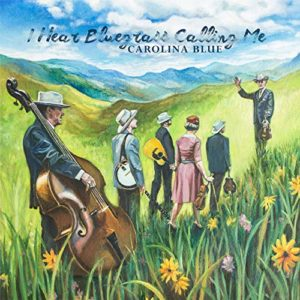 Carolina Blue, bluegrass, Pinecastle Records, Syntax Creative - image