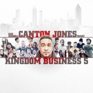 Canton Jones, Kingdom Business, Cajo Records, Syntax Creative - image