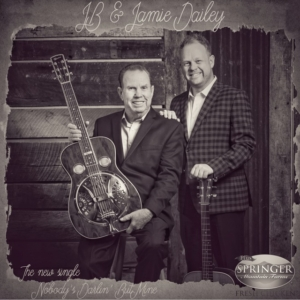 JB Dailey, Jamie Dailey, bluegrass, Pinecastle Records, Syntax Creative - image