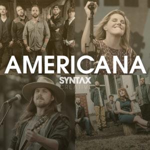 Americana, playlist, Spotify, Apple Music, streaming, Syntax Creative - image