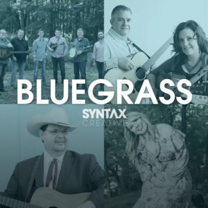 Sideline, Kenny & Amanda Smith, Junior Sisk, Kristy Cox, Bluegrass Sounds, bluegrass, playlist, Synatx Creative - image