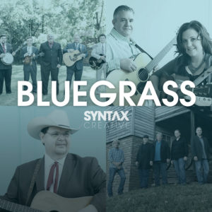 The King James Boys, Kenny & Amanda Smith, Junior Sisk, Flashback, Bluegrass Sounds, playlist, bluegrass, Syntax Creative - image