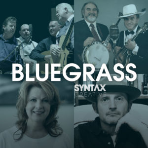 Bluegrass Sounds, bluegrass, Spotify, Apple Music, YouTube, playlist, Syntax Creative - image