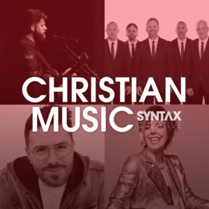 MercyMe, Danny Gokey, Yancy, Kyle Howard, Vineyard Worship, playlist, Spotify, Apple Music, Syntax Creative - image