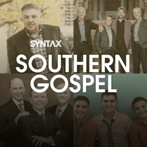 Southern Gospel, playlist, Apple Music, Spotify, Syntax Creative - image
