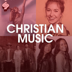 Christian Music, ByChristians, playlist, cover, Lauren Daigle, Jamie Grace, Syntax Creative - image
