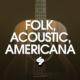 Folk, acoustic music, Americana, streaming, playlist, Syntax Creative - image
