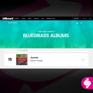 Billboard, Balsam Range, Aeonic, Mountain Home Music Company, Syntax Creative - image