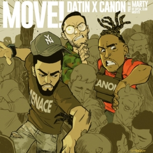 Datin, Canon, Social Club Misfits, hip hop, rap, Menace Movement, Syntax Creative - image