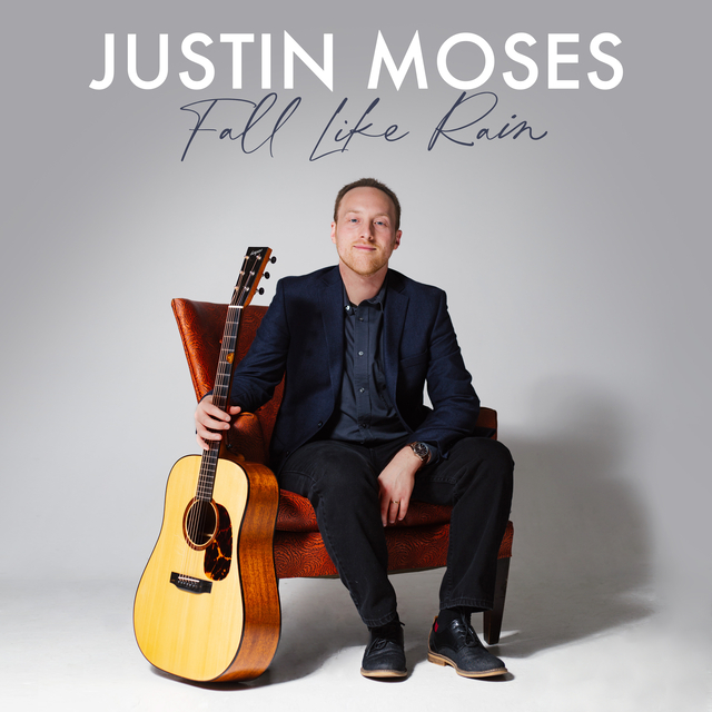 Justin Moses, Mountain Fever Records, bluegrass, guitar, acoustic, Syntax Creative - image