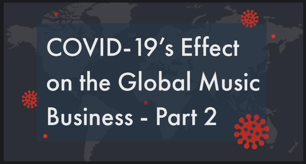 COVID-19, Chartmetric, Coronavirus, pandemic, Syntax Creative - image