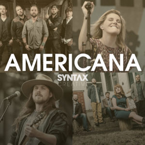Americana, playlist, Spotify, Apple Music, streaming, Syntax Creative - image