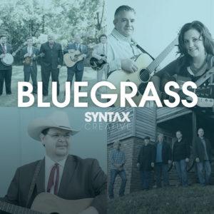 The King James Boys, Kenny & Amanda Smith, Junior Sisk, Flashback, Bluegrass Sounds, playlist, bluegrass, Syntax Creative - image