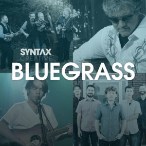 Bluegrass Sounds, playlist, Spotify, Apple Music, bluegrass, Synatx Creative - image