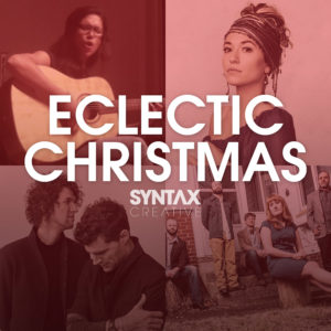Christmas music, playlist, Spotify, Apple Music, streaming, Syntax Creative - image